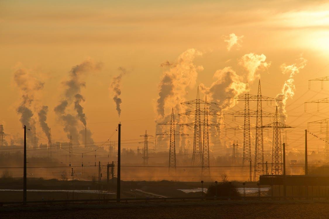 Utsläpp från industriskorstenar
